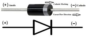 1N4002 Rectifier Diode Pin Configuration