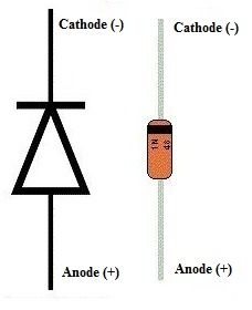 1N4148 Diode Pin Configuration
