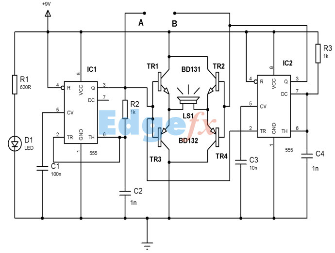 Ic 555 Timer Pin Daigram With Configuration And It S Applications