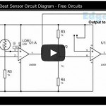 Heart Beat Sensor Circuit Diagram – Free Electronic Circuits