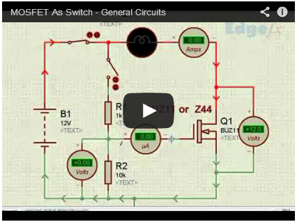 mosfet as switch