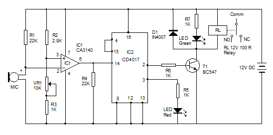 Sound-Sensitive-Switch-Circ