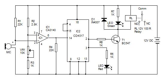 Sound-Sensitive-Switch-Circ