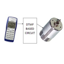 RF Link Based DC Motor Control