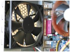 Temperature Controlled Fans