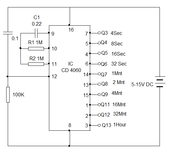 Sensational Types Of Timer Circuits With Schematics And Its Working Principle Wiring Database Gramgelartorg
