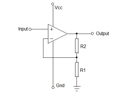 NON-INVERTING-AMPLIFIER
