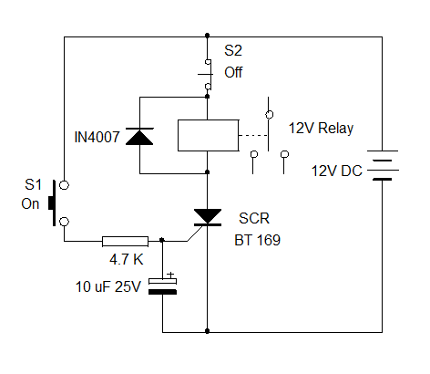 SCR-CONTROLLED-RELAY