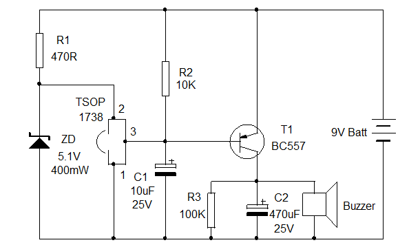 Remote tester circuit diagram