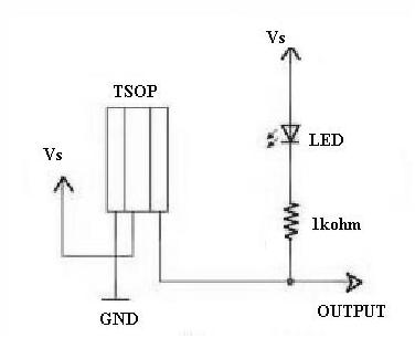 TSOP Sensor Circuit