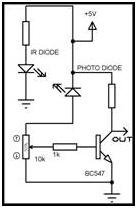 circuit ir sensor
