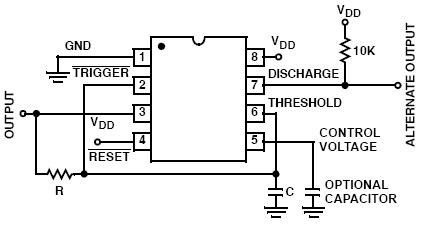 7555 TIMER Circuit