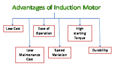 Advantages of Induction Motor