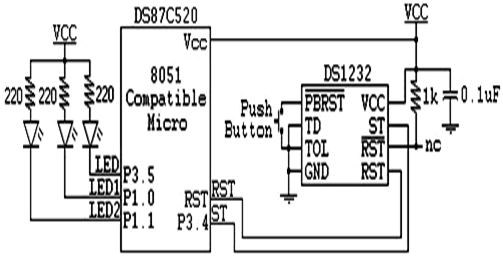 DS1232-circuit