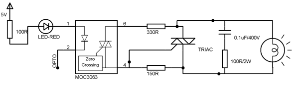 MOC3063-circuit