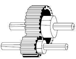 Speed Reduction in geared DC Motor