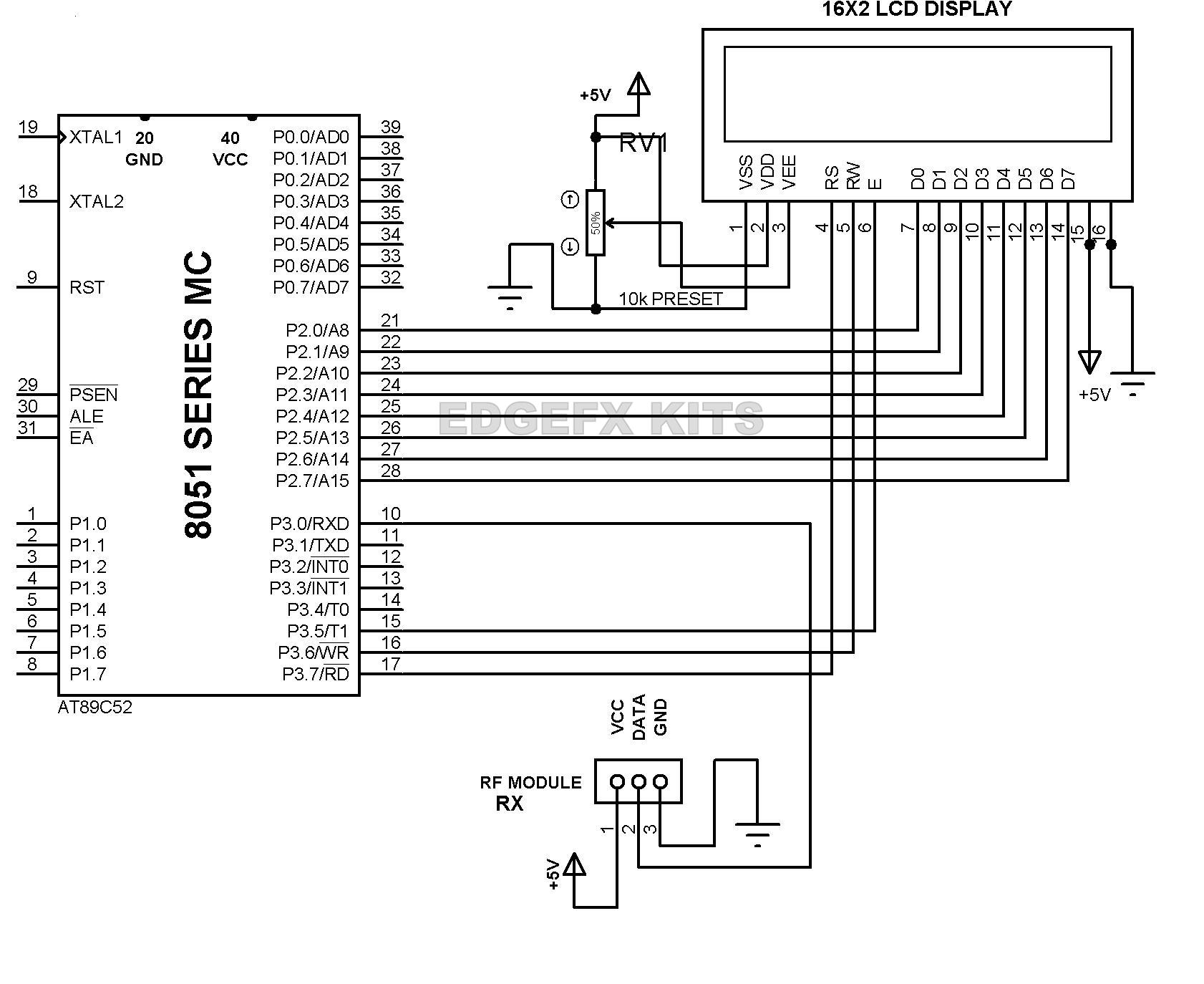 Wireless Rf Module Transmitter And Receiver Latest Applications Circuit Diagram Online Of Ups 500w 2 3pin Working