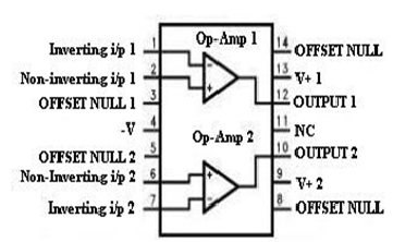 list of 10 op amps pin configuration of ics and working principlesCircuit Was Based On A Single Operational Amplifier Integrated Circuit #17