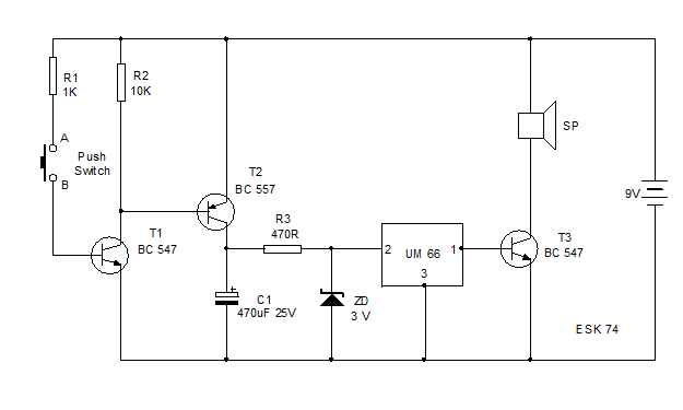 Dc Generator Circuit Diagram | What Is Tone Generator Latest Application To Develop Melody And Siren