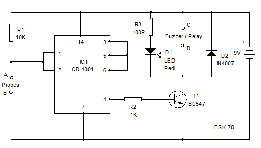 Water-Level-Controller-Circuit