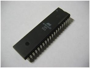 40 pin DIP Photograph of ATmega32