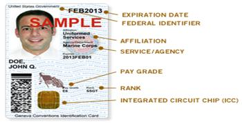 A Sample ID Card for Organizations