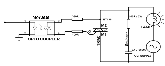 introduction of optocouplers types working and applications rh elprocus com optocoupler ic circuit diagram optocoupler circuit diagram pdf