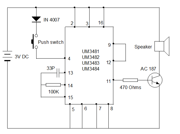 MUSICAL-DOORBELL-CIRCUIT