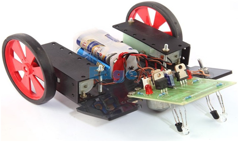 Line Follower Robot With Circuit Daigram Explanation And Applications