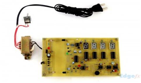 A Prototype circuit of Speed checking using IR sensor
