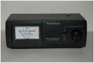 A field strength meter by RadioShack