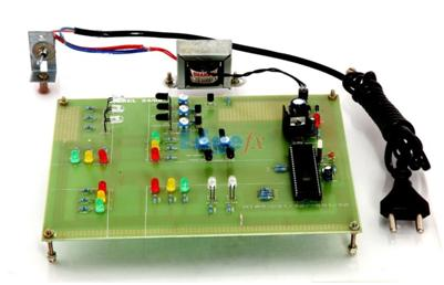 A prototype of Density based traffic signal control