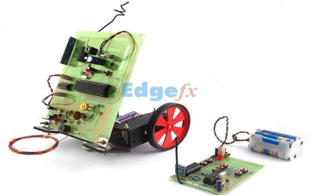 A simple prototype of Robotic Vehicle with metal detector