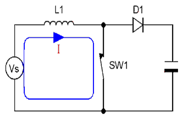 Boost Converter Discontinuous Condition Mode