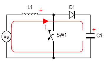 Boost Converter Continuous Conduction Mode