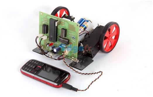 Cell Phone Controlled Robotic Vehicle by Edgefx Kits