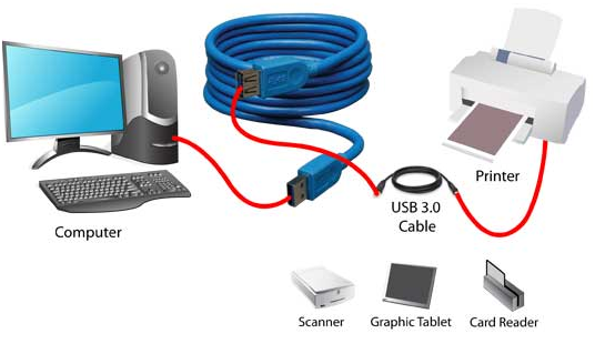 USB Protocol Communication