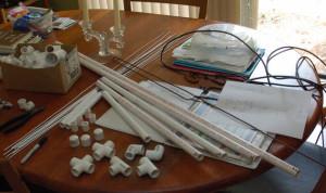 Yagi Uda Antenna Materials