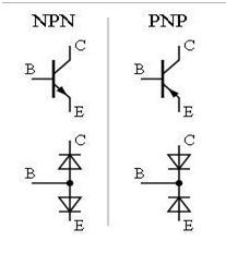 Diode NPN-PNP