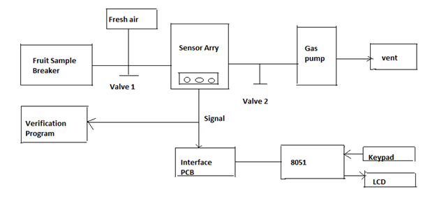 what is electronic nose enose working principle and applications rh elprocus com electronic nose block diagram