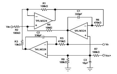 list of 10 op amps pin configuration of ics and working principles