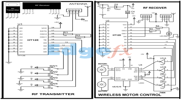 rf receiver circuit diagram  u2013 powerking co
