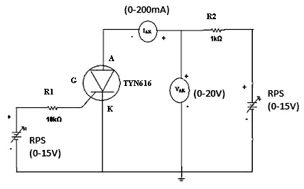 THYRISTOR-Circuit