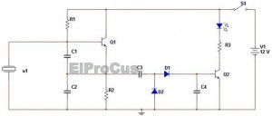 Crystal Tester Simple Electronics Projects Circuit Diagram