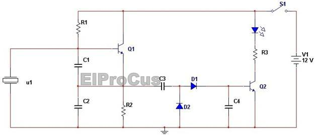 top 10 simple electronic projects for beginners in 2014 rh elprocus com simple electronic circuit diagram project simple electric circuit diagram