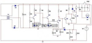 Electronic Motor Control Circuit Diagram