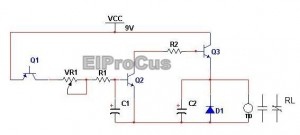 Fire Alarm Simple Electronics Project Circuit Diagram