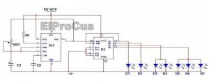 LED Indicator Light Circuit Diagram