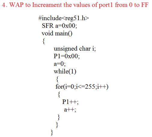 Basics and Structure of Embedded C Program with Examples for