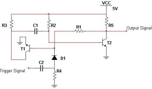 Monostable Multi-vibrator Circuit